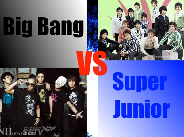 Super Junior VS Big Bang
