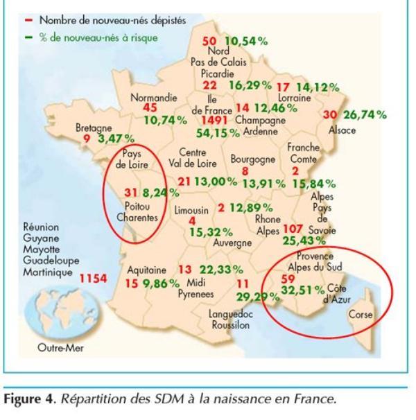 ♥♥♥ Drépanocytose ♥ Nouveau ♥ Nés ♥ En ♥ France ♥♥♥