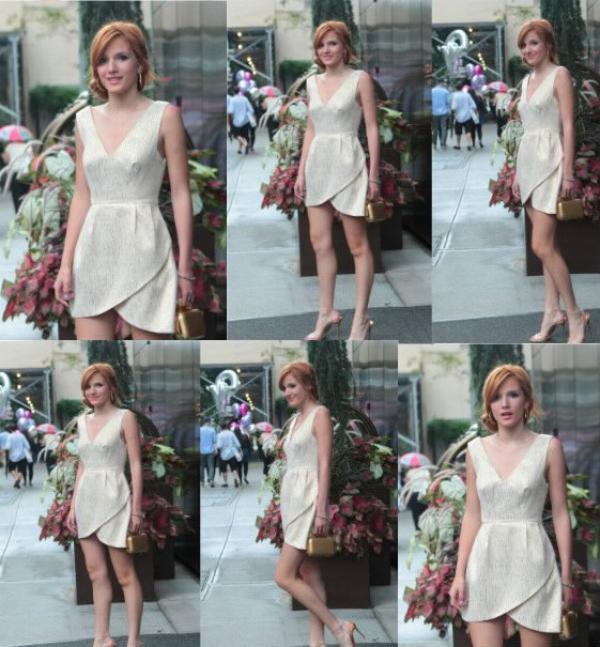 Bella découvrant NY le 2 août :