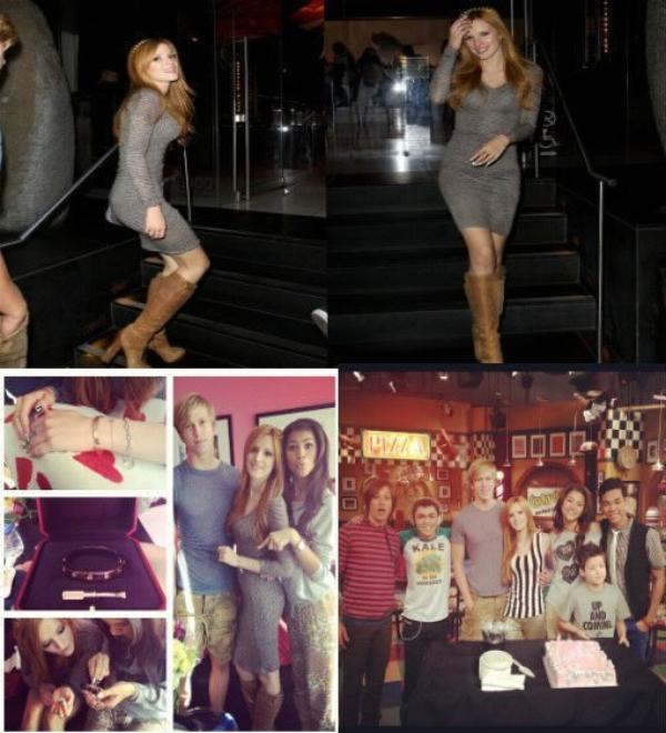 Photos de Bella lors de son anniversaire le 8 octobre :