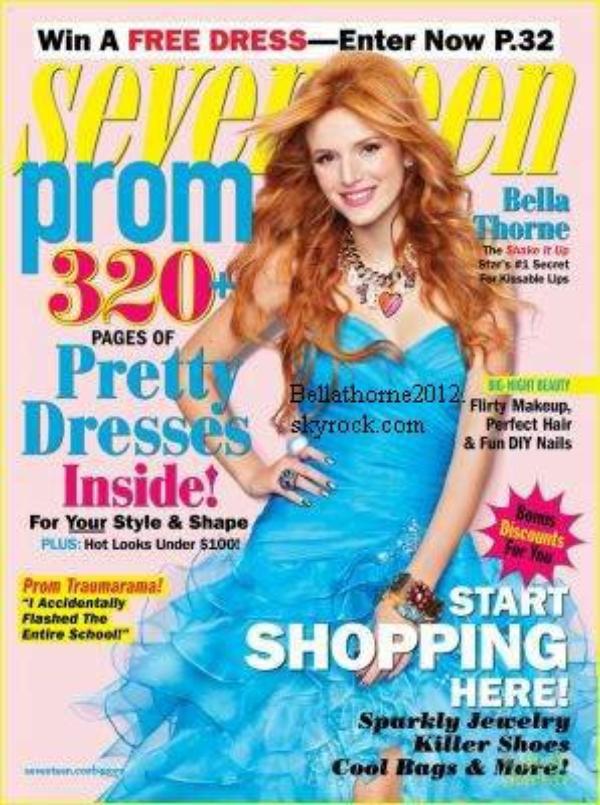 Shoot de Bella pour Seventeen :