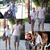 .10/07/2010 : Mardi 13 juillet : Mil et son boyfriend sont allés déjeuner a Studio City . Je me demande un truc... Miley connait-elle une autre nourriture que les sushis ?   .