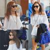 14 JUIN  - Demi a L'aéroport de L.A  Demi a était aperçut a l'aéroport de L.A , avec ses deux s½ur  Dallas & Madison . Je ne connais pas ça destination . Elle est Magnifique . ♥