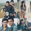 25 JUIN - PHOTOSHOOT     Demi & Joe on fait un nouveau Photoshoot genre Année 50 .