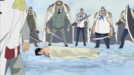 Le combat de Luffy & Ace <3