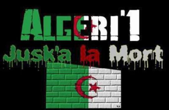 Algeriie c mon pays respect la famiile
