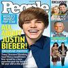Justin Bieber à l'impression d'être un taré sur cette photo :