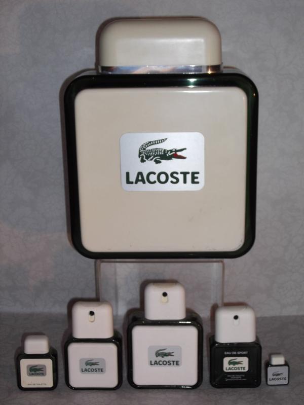 """✿ Lacoste - POUR HOMME & FEMME - """"Le Crocodile"""" ✿"""