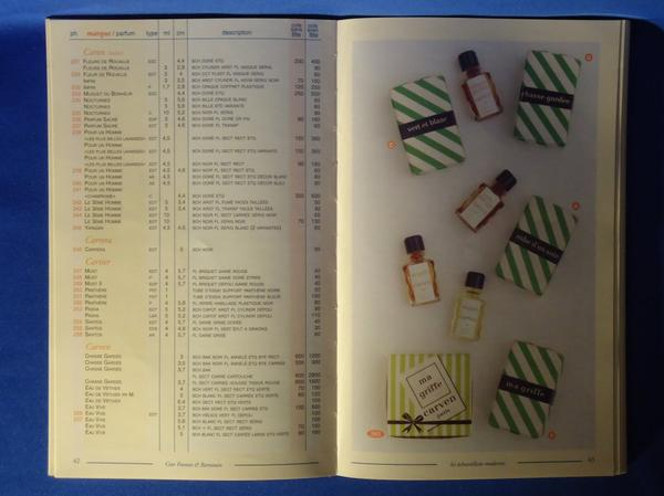 📚 Répertoire 📚 La cote des échantillons de parfum 📚