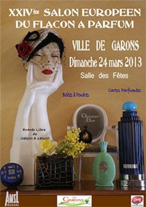 ♥  24ème Salon du Flacon à Parfum à Garons (près de Nimes) - 24 mars 2013  ♥
