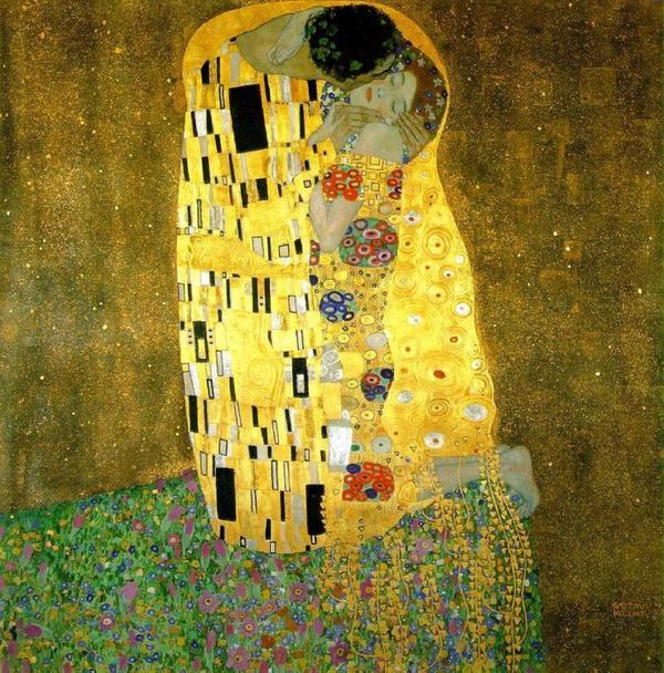 """♥  ♥ """"LE BAISER"""" de Gustav Klimt  ♥  ♥"""