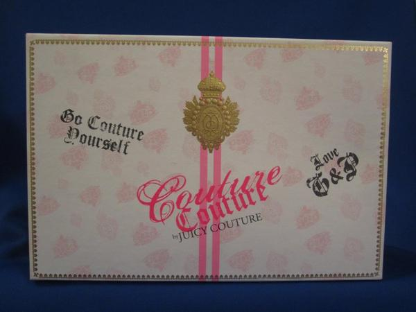 ✿ Juicy Couture - COUTURE COUTURE - coffret ✿