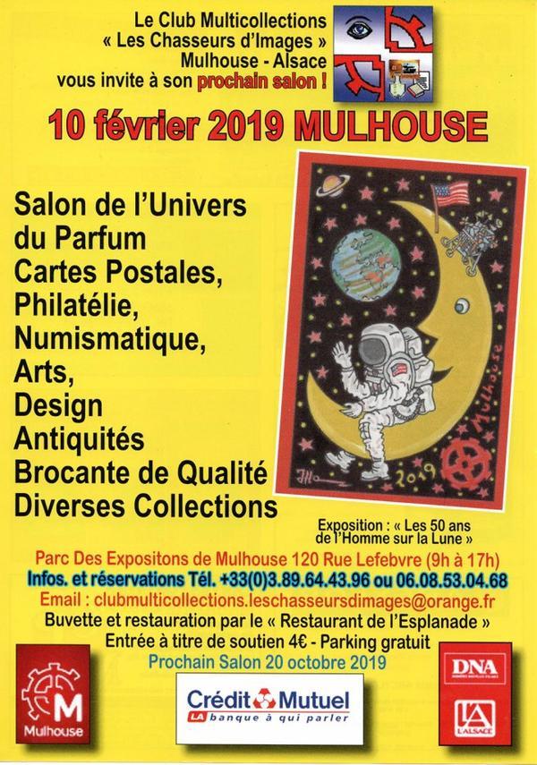 ♥ Salon de l'univers du parfum et de la carte postale - Mulhouse -  10 février 2019  ♥
