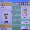 Pichu Shiney Event / DS