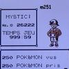 Pokémon Argent - Temps de jeu