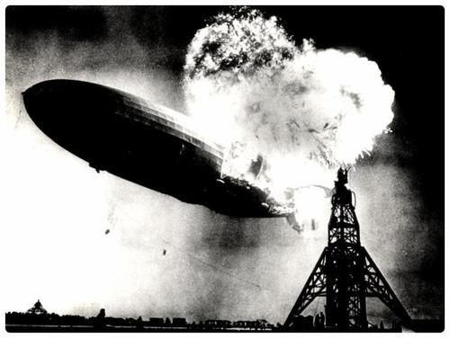 Crash du Zeppelin LZ 129 Hindenburg