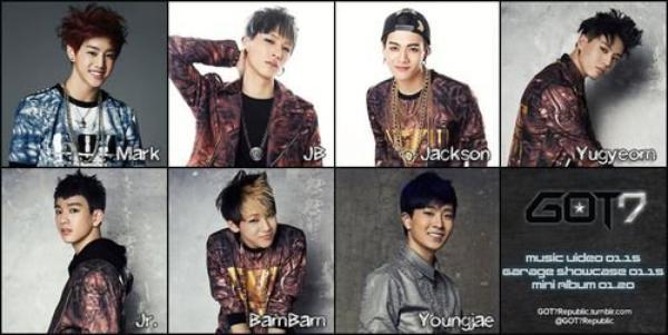 Biographie GOT7 - Blog de Beast-fanfiction-Kpop