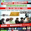 Concert Solidarité Comores au Dôme de Marseille Samedi 23 janvier 2010 a 19h Réservez vite vos places !