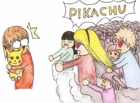 Everyone loves Pikachu ♥