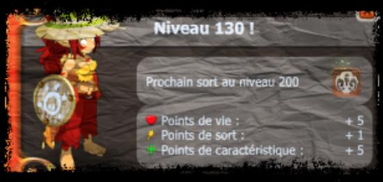 UP lvl 130