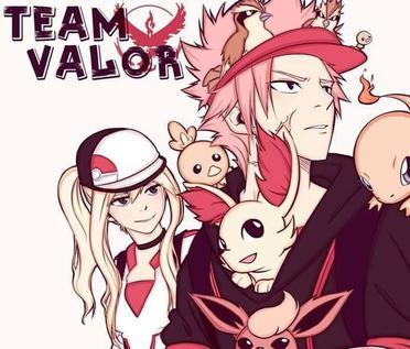 Team Pokémon Go x Fairy Tail
