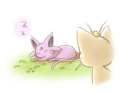 Miaouss suit l'éxemple parfait -Mini comic Pokémon