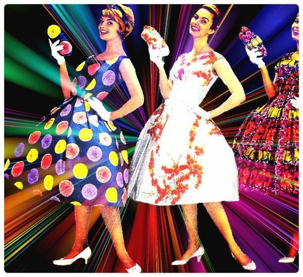 Mode ann e 60 39 r tro vintages - Mode annee 70 femme ...