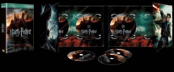 """DVD """"Harry Potter et les Reliques de la Mort (Part.2)"""""""