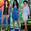 *En quelle année préfères tu Selena au Teen Choice Awards ? *