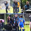 . . ....*27 Février 2010* |  Simon & Becca étaient présents au match de soccer de leur fils de huit ans, Harry..........................Saison 2 du Mentalist en VOSTFR -  Soirée de l'étrange : Mentalist.  . .