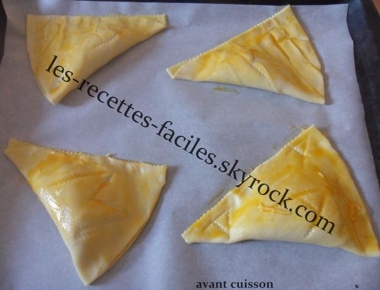 ~~ CHAUSSON JAMBON - FROMAGE ~~