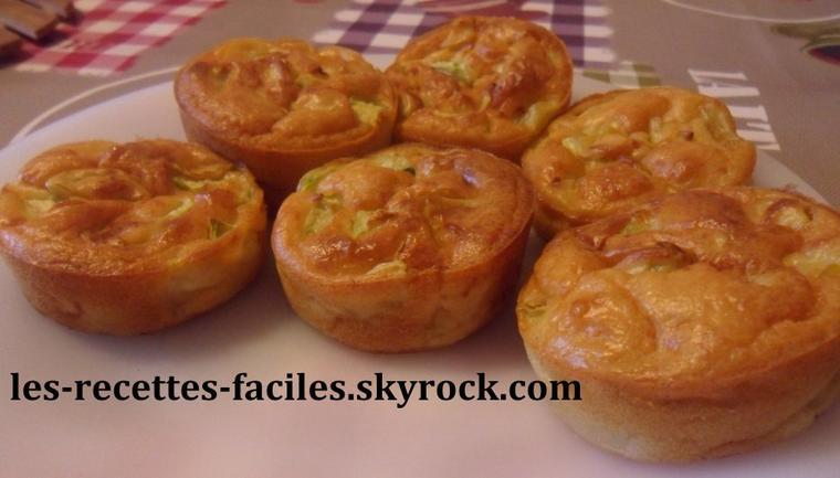 ~~ MINI CAKES DE COURGETTES ~~