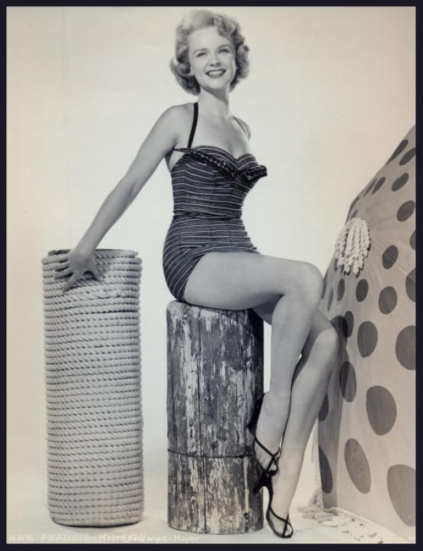 Anne FRANCIS '40-50 (16 Septembre 1930 - 2 Janvier 2011)