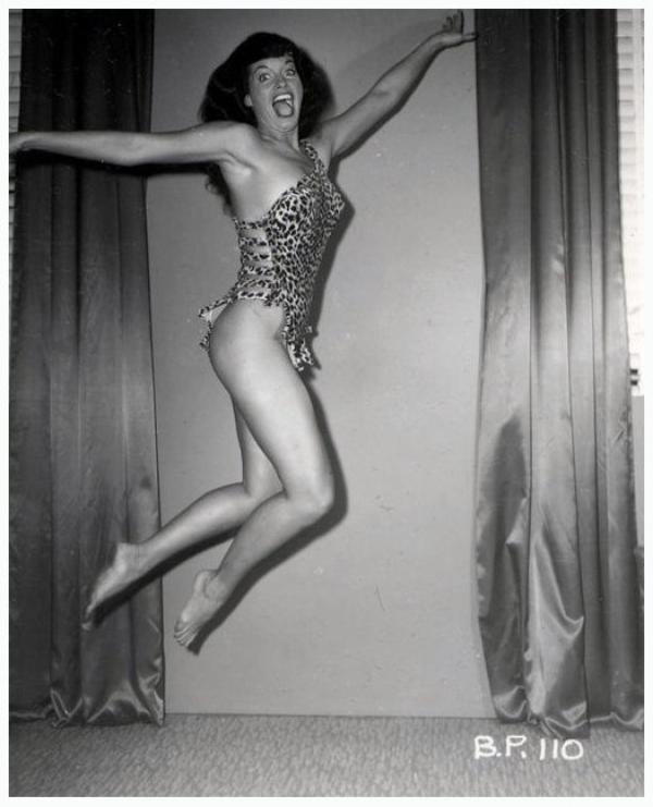 Bettie PAGE '40-50 (22 Avril 1923 - 11 Décembre 2008)