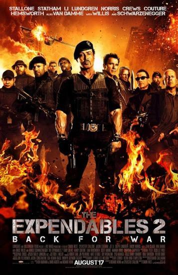 The Expendables 2 - Unité spéciale (Simon West, 2012)