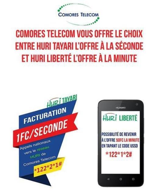Dans ses dernières offres, Comores Télecom vient de lancer le défi à Telma. À votre choix !
