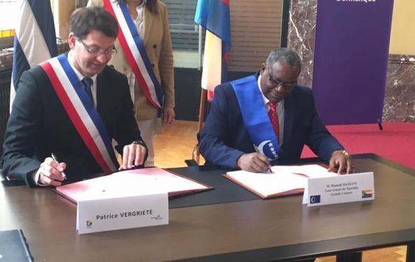 Dunkerque  et Ngazidja relance leur partenariat