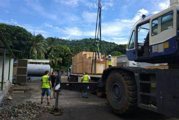 Électricité à Ndzuani : installation et révision de générateurs à Ntrenani
