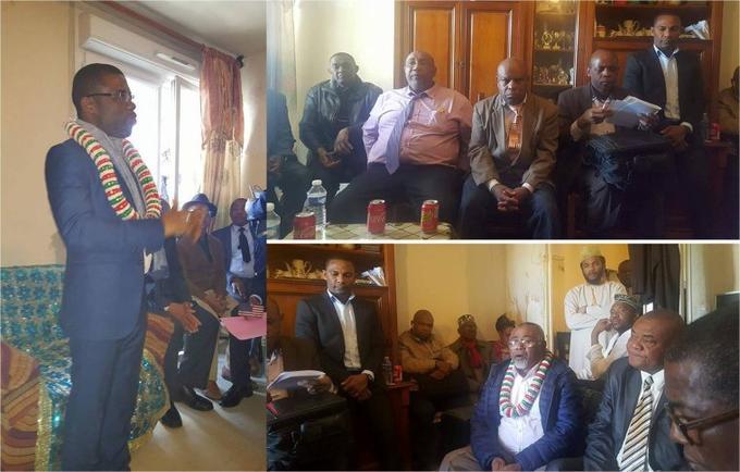 Rencontre entre le gouverneur Abdou Salami et la diaspora anjouanaise de Marseille