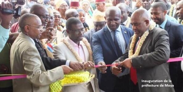 Le président Azali a inauguré la préfecture de Moya