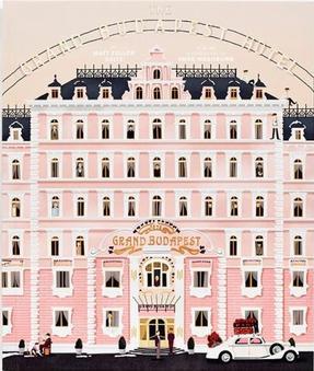 ↔ The grand Budapest Hôtel ↔