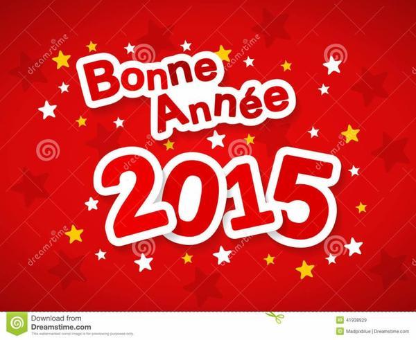 Bonne Année 2015 a tous