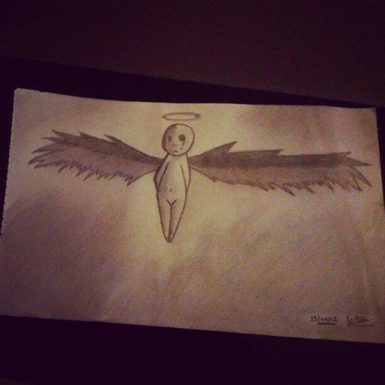 Un petit ange triste...