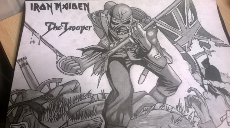 The Trooper d'Iron Maiden !! (Terminer)