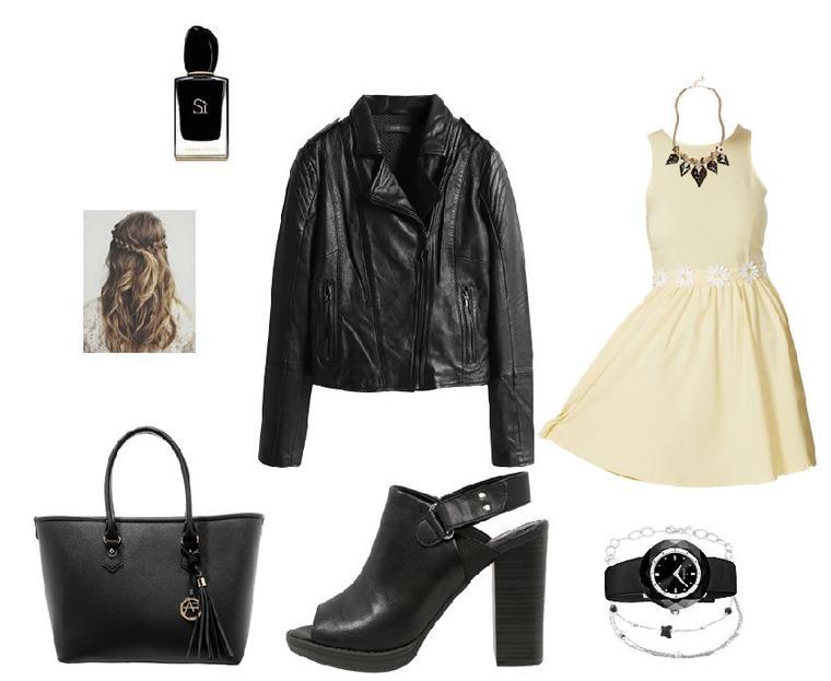 ♥ Outfit du mois n°5 Juin look rock ♥