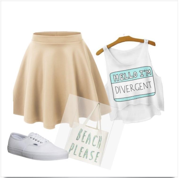 ♥ Outfit du mois de Juillet n°6 thème legère et freshhyy ♥