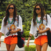 . Ash En Route Pour Un News Photoshoot Qui Seras Acconpaginer de Aly  Michalka, pour la couverture de Dix-sept Magazine.