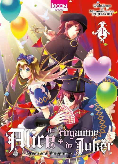 Les mangas d'Alice au Royaume de Joker