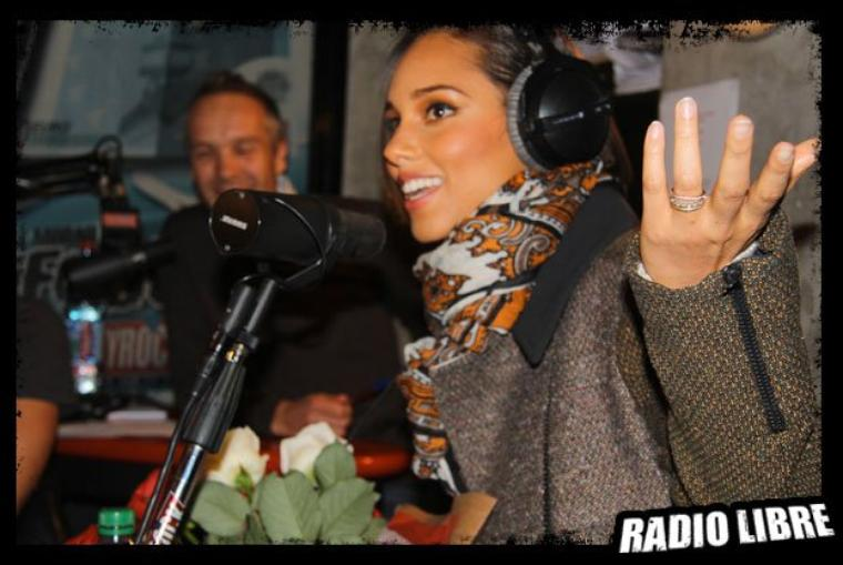 Alicia Keys dans la Radio Libre !