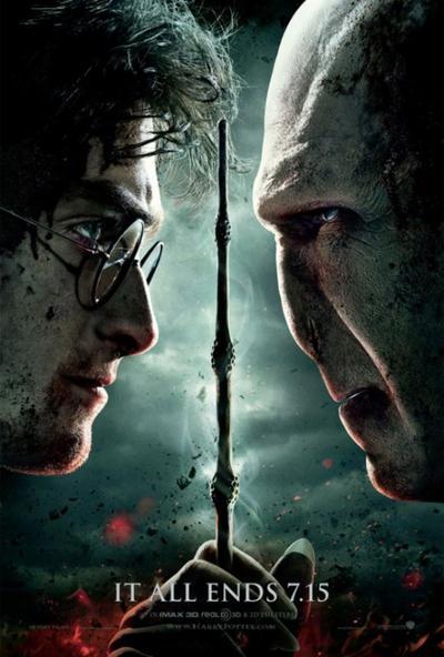 Harry Potter 8 : Les Reliques de la Mort (partie 2).